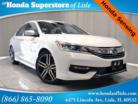 New 2016 Honda Accord Sport FWD 4D Sedan