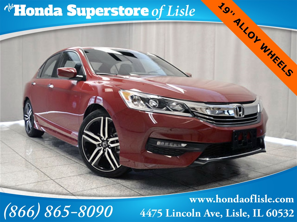 New 2016 Honda Accord Sport